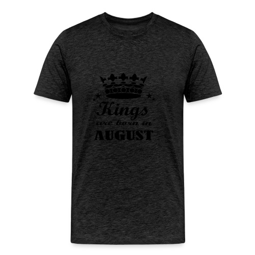 Geburtstagsshirt August Männer - Männer Premium T-Shirt