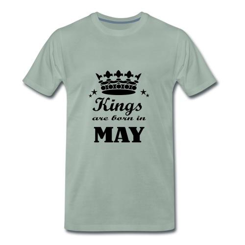 Geburtstagsshirt Mai Männer - Männer Premium T-Shirt