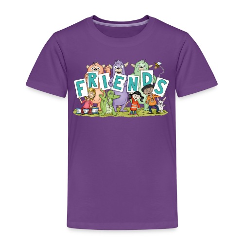 friends - Kinder Premium T-Shirt - Kinder Premium T-Shirt