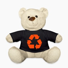 Black Recycle Teddies