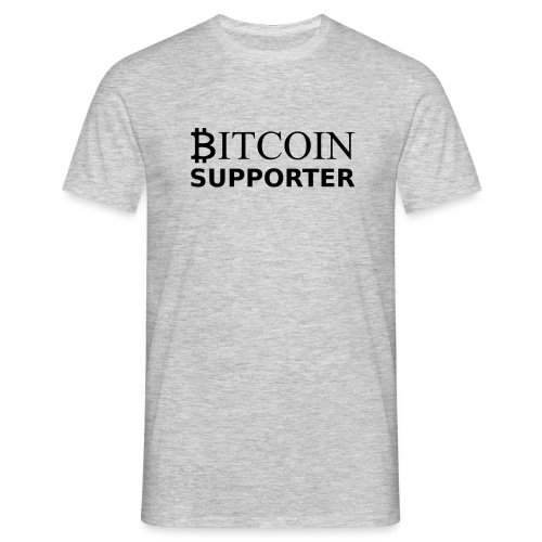 Bitcoin supporter - T-shirt Homme
