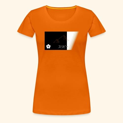 Vaporwave Japan - Frauen Premium T-Shirt