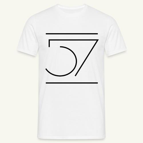 Fiftyseven NEW 57 Design Männer T-Shirt - Männer T-Shirt
