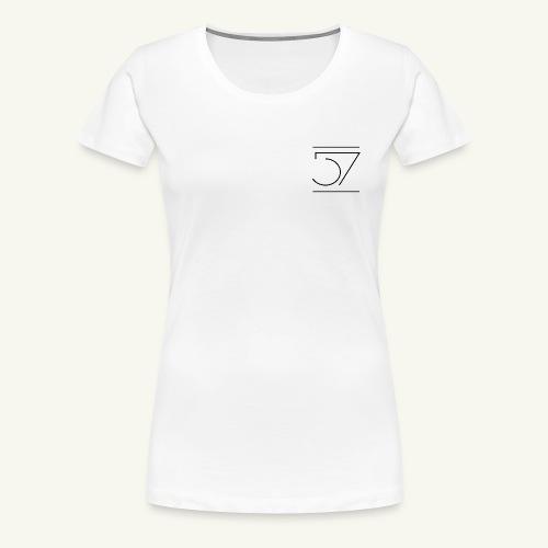 Fiftyseven NEW 57 Design Frauen Premium T-Shirt - Frauen Premium T-Shirt