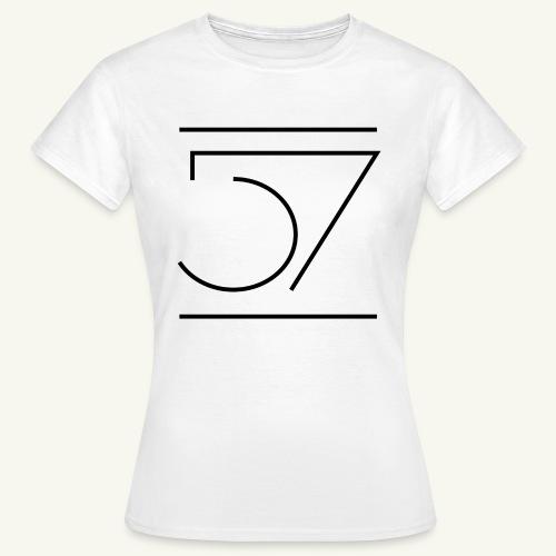 Fiftyseven NEW 57 Design Frauen T-Shirt - Frauen T-Shirt