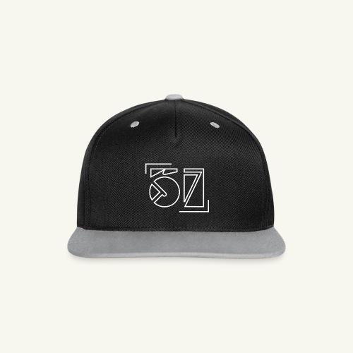 Fiftyseven NEW Snapback Cap - Kontrast Snapback Cap