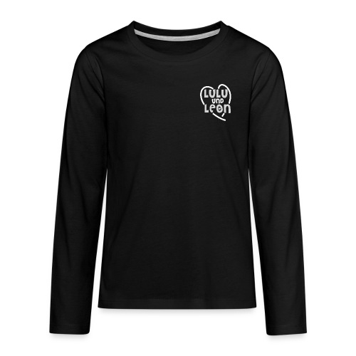 Lulu & Leon - Family and Fun - Langarmshirt - Herzlogo - Teenager Premium Langarmshirt