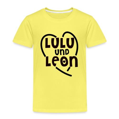 Lulu & Leon - Family and Fun - Kinder T-Shirt - Herzlogo - Kinder Premium T-Shirt