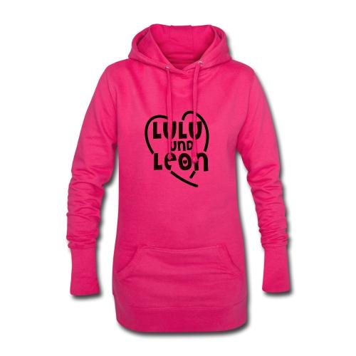 Lulu & Leon - Family and Fun - Hoodie-Kleid - Herzlogo - Hoodie-Kleid