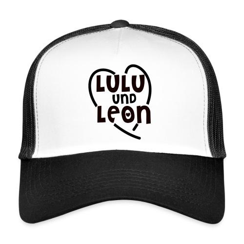 Lulu & Leon - Family and Fun - Trucker Cap - Herzlogo - Trucker Cap