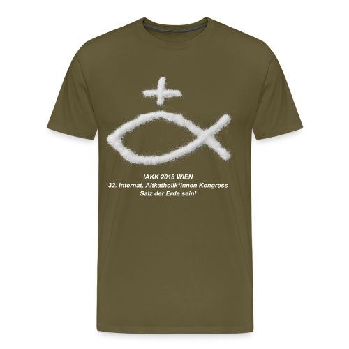 IAKK 2018 WIen - Salz der Erde sein - Männer Premium T-Shirt