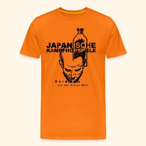JAPANISCHE KAMPFHÖRSPIELE -   aus der Ersten Welt - Männer Premium T-Shirt