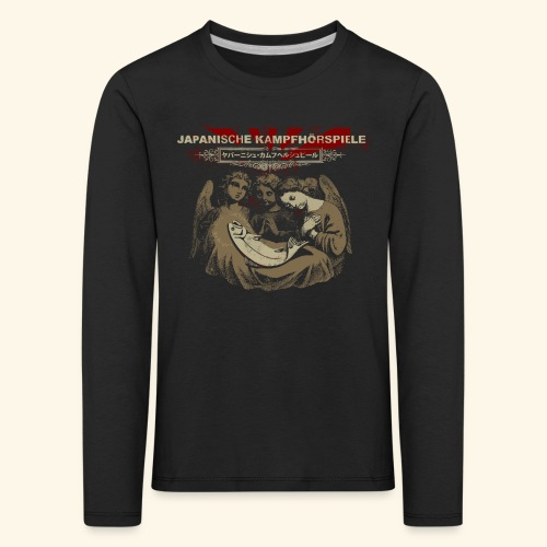 JAPANISCHE KAMPFHÖRSPIELE - Jesus - Kinder Premium Langarmshirt