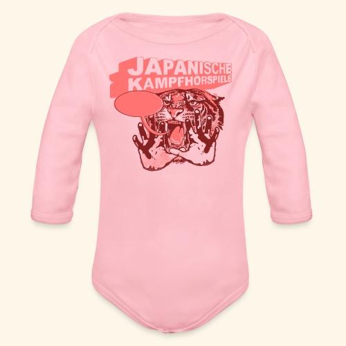 JAPANISCHE KAMPFHÖRSPIELE - Tiger - Baby Bio-Langarm-Body