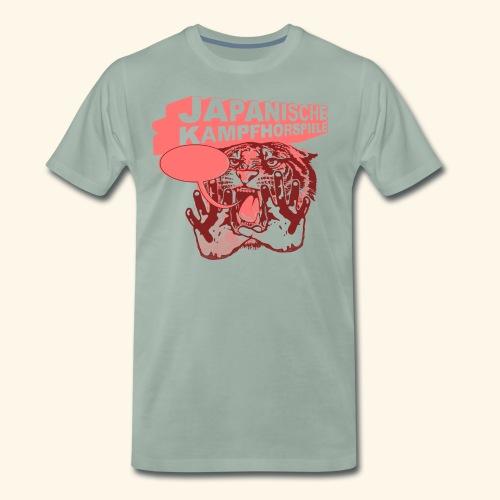 JAPANISCHE KAMPFHÖRSPIELE - Tiger - Männer Premium T-Shirt