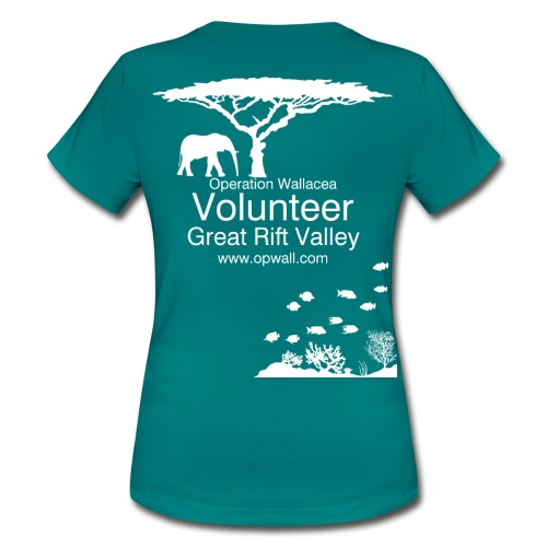 Opwall Great Rift Valley Women's T-Shirt - Women's T-Shirt