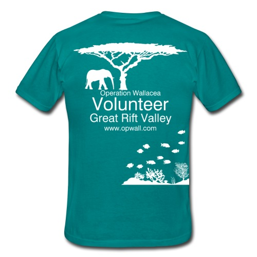 Opwall Great Rift Valley Men's T-Shirt - Men's T-Shirt
