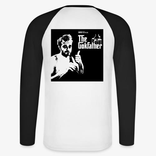 Langærmet tee Gokfarther - Langærmet herre-baseballshirt
