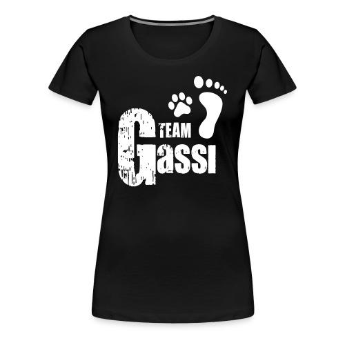 Team Gassi - Frauen Premium T-Shirt