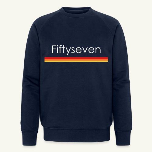 Fiftyseven RED Männer Sweatshirt - Männer Bio-Sweatshirt von Stanley & Stella