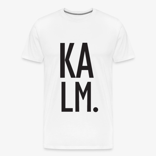 KALM. Big T-shirt - Men's Premium T-Shirt