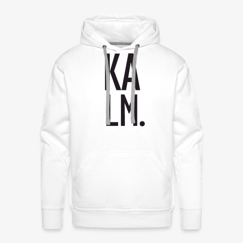 KALM. Big Sweat - Men's Premium Hoodie