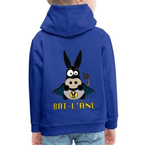 Sweat-shirt Enfant Âne Super Héros - Pull à capuche Premium Enfant