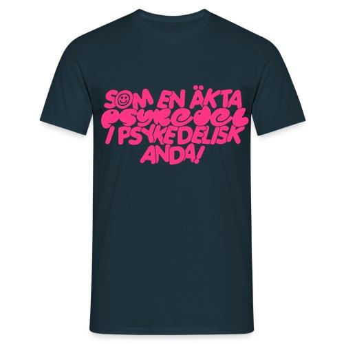 PSYKEDELISK ANDA - T-shirt herr
