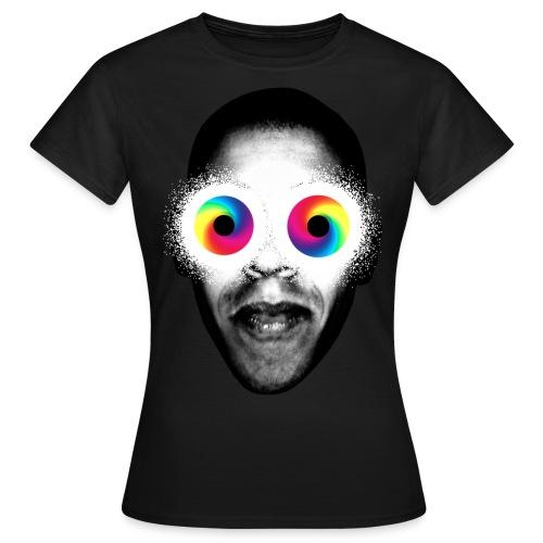 PSYKEDELISKA ÖGON! - T-shirt dam