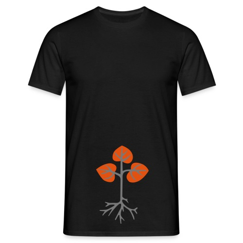 Roots n Shoots - Men's T-Shirt