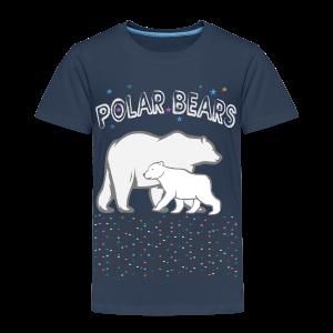 kidscontest - polar bears - Kinder Premium T-Shirt