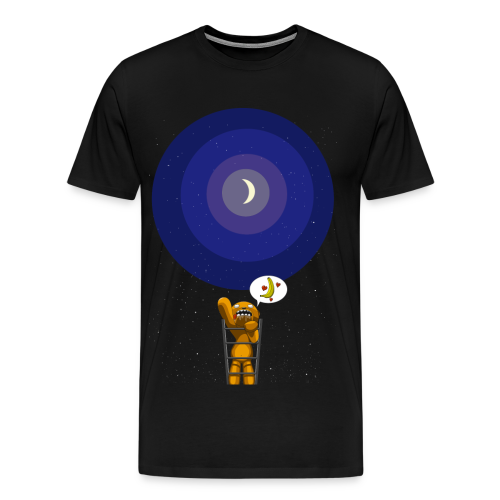 Bear and moon - T-shirt Premium Homme