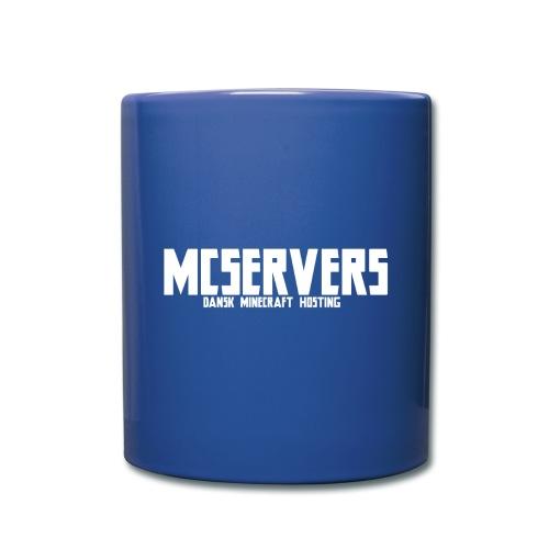 McServers - Kop - Ensfarvet krus