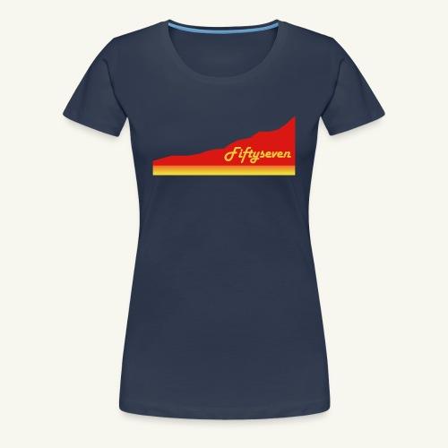 Fiftyseven RED Mountain Frauen Premium T-Shirt - Frauen Premium T-Shirt