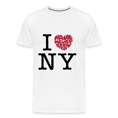 I Heart New York - Männer Premium T-Shirt