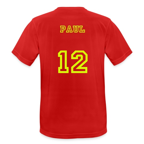Paul 12 - mannen T-shirt ademend