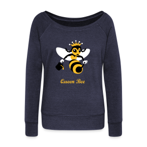 Queen Bee Trui Wijde Hals - Vrouwen trui met U-hals van Bella