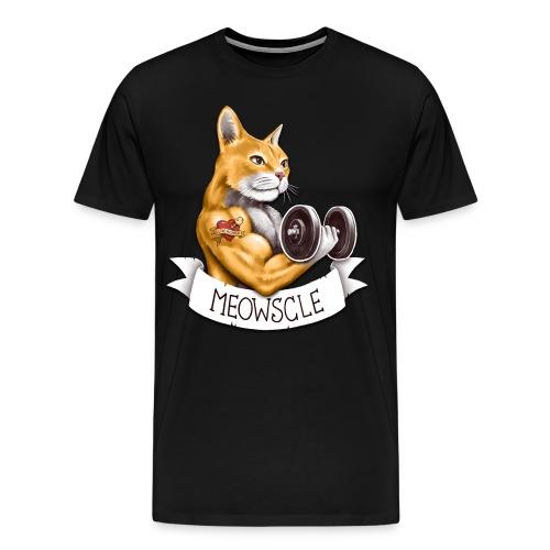 Meowscle - Men's Premium T-Shirt