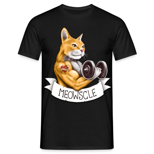 Meowscle - Men's T-Shirt