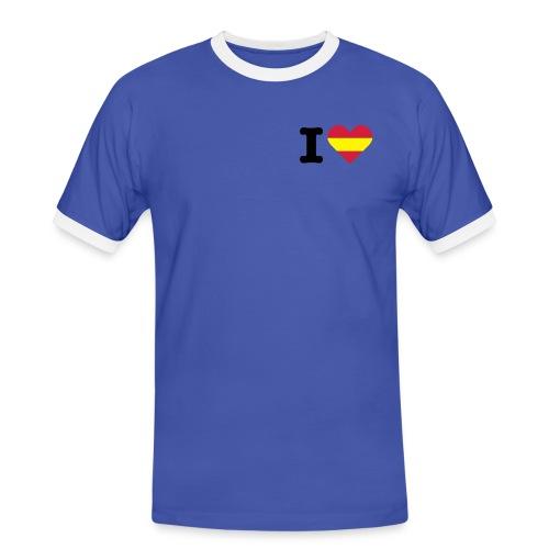 Para Hombre - Camiseta contraste hombre