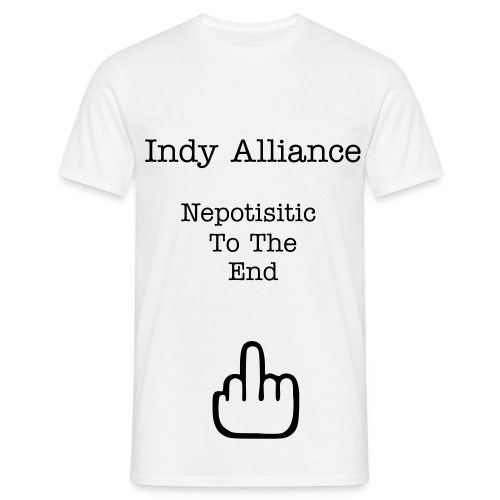 Indy Alliance - Nepotism - Men's T-Shirt
