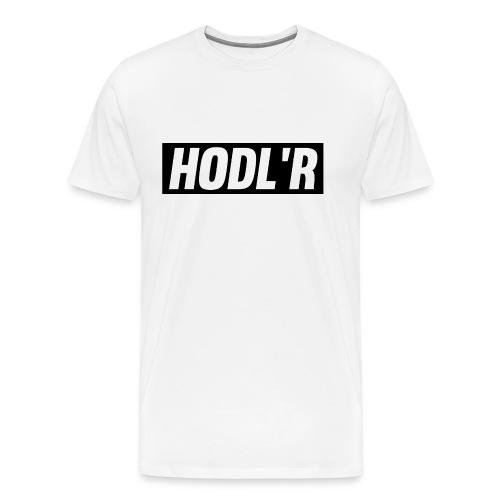 Hodl'r - Mannen Premium T-shirt