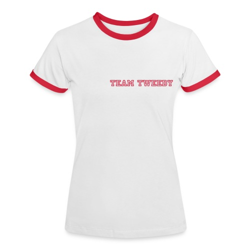 Team Tweedy Cheer Leader - Women's Ringer T-Shirt