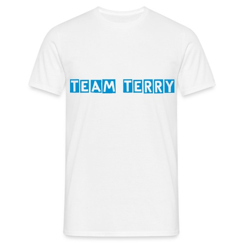 Team Terry White - Men's T-Shirt