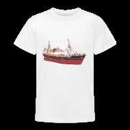 Shirts ~ Teenage T-shirt ~ Red Boat (kids)