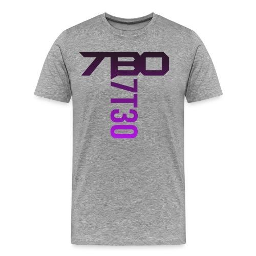 7t30 purple spread - Men's Premium T-Shirt