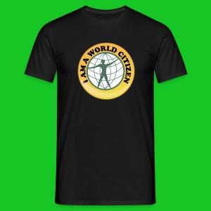 Wereldburger heren t-shirt - Mannen T-shirt