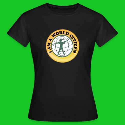 Wereldburger dames t-shirt - Vrouwen T-shirt