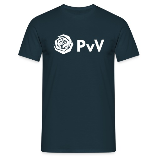 Pvda/Pvv - wit - Mannen T-shirt