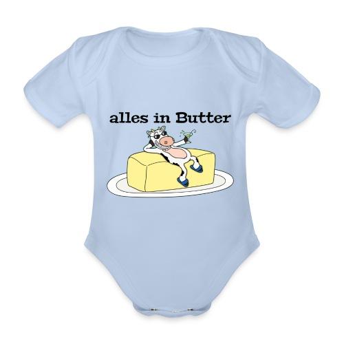 alles in Butter / Baby-Bio langarm Body - Baby Bio-Kurzarm-Body